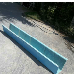 Rain Drainage Gutter made with Fibreglass